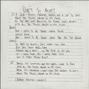 Click here for more info about 'Oasis - Don't Go Away (Mustique Demo)'