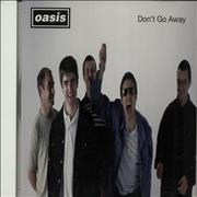 Click here for more info about 'Oasis - Don't Go Away'