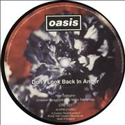 "Oasis Don't Look Back In Anger UK 7"" vinyl"