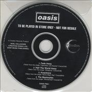 Click here for more info about 'Oasis (UK) - Fade Away'