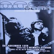 Click here for more info about 'Oasis (UK) - Familiar To Millions - Blue'