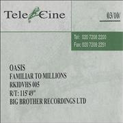 Click here for more info about 'Oasis (UK) - Familiar To Millions'
