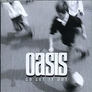 Click here for more info about 'Oasis (UK) - Go Let It Out - Withdrawn Logo'
