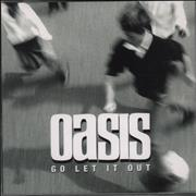 Click here for more info about 'Oasis (UK) - Go Let It Out'