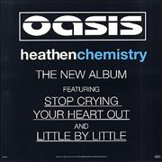 Click here for more info about 'Oasis (UK) - Heathen Chemistry'