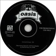 Click here for more info about 'Oasis (UK) - Interview CD'