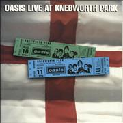 Click here for more info about 'Oasis - Live At Knebworth Park + ticket stub'