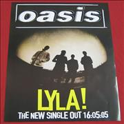 Click here for more info about 'Oasis (UK) - Lyla!'