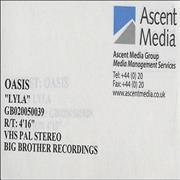 Click here for more info about 'Oasis (UK) - Lyla'