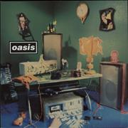 "Oasis (UK) Shakermaker - HYPE + Anglo stickers UK 12"" vinyl"
