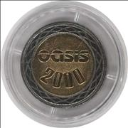Click here for more info about 'Oasis - Standing On The Shoulder Of Giants - £2 coin'
