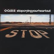 Click here for more info about 'Oasis - Stop Crying Your Heart Out'