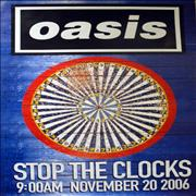 Click here for more info about 'Oasis (UK) - Stop The Clocks - Dartboard'
