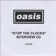 Click here for more info about 'Oasis (UK) - Stop The Clocks - Interview CD'