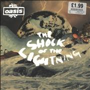 Click here for more info about 'Oasis - The Shock Of The Lightning'