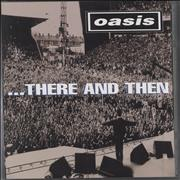 Click here for more info about 'Oasis (UK) - There And Then + Cd'