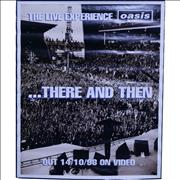 Click here for more info about 'Oasis - There And Then'