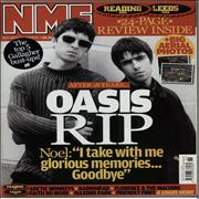 Click here for more info about 'Oasis - Two Issues of the NME - 2009 & 2010'