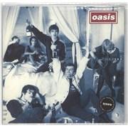 """Oasis (UK) Cigarettes & Alcohol UK 7"""" vinyl"""