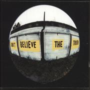 Click here for more info about 'Oasis - Don't Believe The Truth - Box, Badge & Laminate + Mailer'