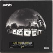 Click here for more info about 'Oasis (UK) - Don't Believe The Truth'