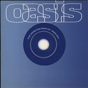 Oasis (UK) Stop Crying Your Heart Out - Stickered Austria CD single Promo