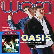 Click here for more info about 'Oasis - WOM Journal - August 1997'