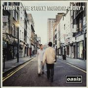 Oasis [What's The Story] Morning Glory? - 1st - EX UK 2-LP vinyl set