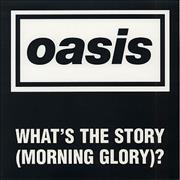 Click here for more info about 'Oasis (UK) - (What's The Story) Morning Glory Promo Floor Poster'