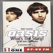 Click here for more info about 'Oasis (UK) - What's The Story?'