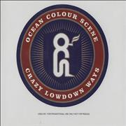 Click here for more info about 'Ocean Colour Scene - Crazy Lowdown Ways'