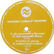 "Ocean Colour Scene Do Yourself A Favour UK 12"" vinyl Promo"