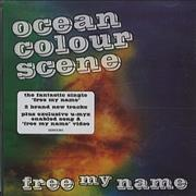 Click here for more info about 'Ocean Colour Scene - Free My Name'