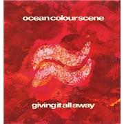 """Ocean Colour Scene Giving It All Away UK 12"""" vinyl"""