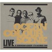 Ocean Colour Scene Live At Birmingham Academy 17th December 2006 UK 2-CD album set