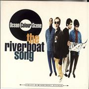 "Ocean Colour Scene The Riverboat Song UK 7"" vinyl"