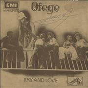 Click here for more info about 'Ofege - Try And Love - 1st - red label'