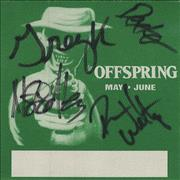 Click here for more info about 'Offspring - Backstage Pass - AUTOGRAPHED'