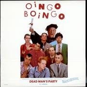 Click here for more info about 'Oingo Boingo - Dead Man's Party - Gold promo stamped'