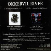 Click here for more info about 'Okkervil River - Rider + Press Release'