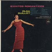 Olga Guillot 12 Exitos Romanticos Mexico vinyl LP