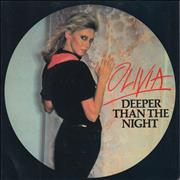 Click here for more info about 'Olivia Newton John - Deeper Than The Night + P/S'