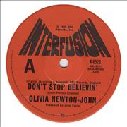Click here for more info about 'Olivia Newton John - Don't Stop Believin''