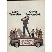 Olivia Newton John Grease USA press book