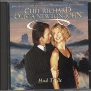 Olivia Newton John Had To Be UK CD single