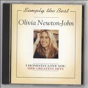 Olivia Newton John Her Greatest Hits Netherlands CD album