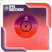"""Olivia Newton John Let Me Be There UK 7"""" vinyl"""