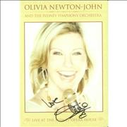 Click here for more info about 'Olivia Newton John - Live At The Sydney Opera House - Autographed'