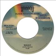 Click here for more info about 'Olivia Newton John - Magic - Both Label Designs'