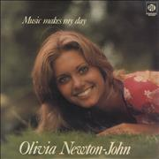 Click here for more info about 'Olivia Newton John - Music Makes My Day - White Label'